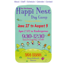 Happi Nest website