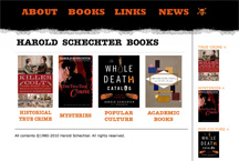 Harold Schechter website